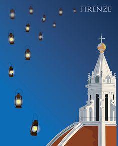 la lanterna e le lanterne a Firenze on Behance
