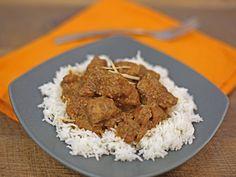 Pork Vindaloo over Basmati Rice
