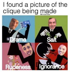 Sorry clique... but I think we all know that it's true