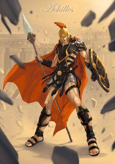 Achilles by *bayanghitam on deviantART