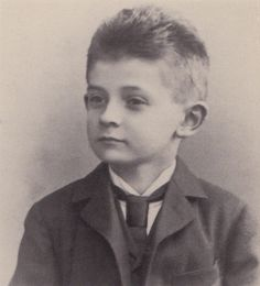 Egon Schiele in 1898 (8 years old)