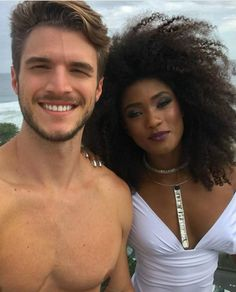 Fabulous interracial couple - ♡♡A True Love Story♡♡ - Interracial Couples, Biracial Couples, Interracial Dating Sites, Mixed Couples, Couples In Love, Black And White Love, White Man, Black And White Couples, Interacial Love