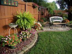 Landscape Design On Backyard nor Flower Cultivation And Landscape Gardening Pdf. Landscape Design For Backyard Privacy Small Backyard Landscaping, Backyard Garden Design, Fire Pit Backyard, Backyard Patio, Landscaping Ideas, Backyard Ideas, Backyard Seating, Small Patio, Backyard Privacy