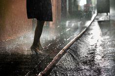 Christophe Jacrot. Hong Kong In The Rain-Belle du pluie.