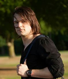 Dimitri from Vampire Academy :) I normally like short hair, but his works