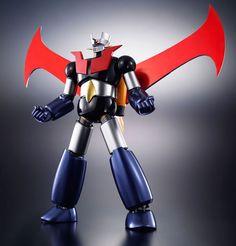 Bandai Mazinger Z Great Mazinger DX Soul of Chogokin Metal Action Figure F/S 4543112890061 Vintage Robots, Vintage Toys, Gundam, Space Ship Concept Art, D Mark, Gurren, Cool Robots, Japanese Toys, Robot Action Figures