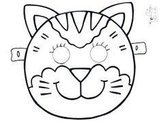 Animals mask template coloring pages Animal Mask Templates, Math Rotations, Printable Masks, Paint Cookies, Animal Masks, Mask For Kids, Kids And Parenting, Masquerade, Coloring Pages