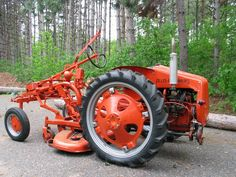 1949 Allis Chalmers G Lawn Tractors, Old Tractors, Antique Tractors, Vintage Tractors, Allis Chalmers Tractors, Garden Equipment, Boy Toys, Hobby Farms, Farmers