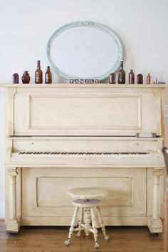 Piano - I learned to play on a piano just like this!