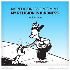 The world could use more #kindness #MUTTSManifesto