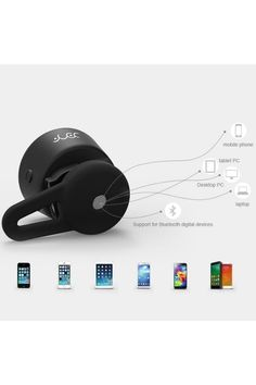 Single Side Mini Wireless Bluetooth Stereo Headphone Earbud Headset - OASAP.com
