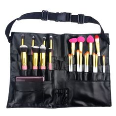 Tools Pvc Professional Cosmetic Makeup Brush Apron Bag Artist Belt Strap Holder Hospitable Funn
