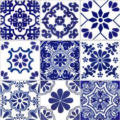 Tile Stickers for Kitchen Bath or Floor Waterproof ChinaBlue Kitchen Backsplash Ideas Bath ChinaBlue floor kitchen Stickers Tile Waterproof Tile Decals, Wall Tiles, Vinyl Decals, Bad Wand, Tuile, Home Decor Trends, Tile Patterns, Tile Design, Kitchen And Bath