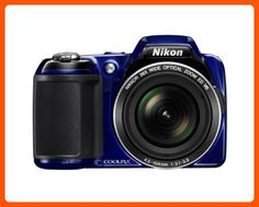 Nikon COOLPIX L810 16.1 MP Digital Camera with 26x Zoom NIKKOR ED Glass Lens and 3-inch LCD (Blue) - Photo stuff (*Amazon Partner-Link)
