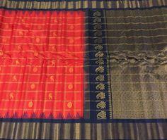 Pure Handloom Gadwal Silk Sarees  Buy now  https://slokaonline.com/collections/gadwal-silk-sarees