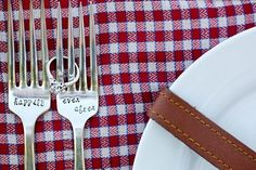 #wedding #picnic #forks #happilyeverafter #engagement http://prettyweddingidea.com/