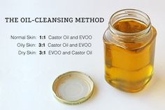 For the Love of Food: The Oil-Cleansing Method.    *Seriously throw everything else away - my skin has never looked better