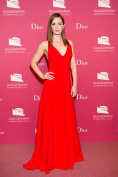 Emily Blunt in Dior. See all the best looks from the Guggenheim International Gala: