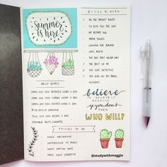 If one of your 2017 resolutions was to be more organized , then I hope you have already made yourself a bullet journal . If you haven't, you need to, immediately. Bullet journals (a mix of a ...