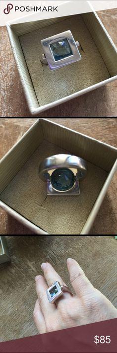 Furla Italian designer Sterling ring size 7 🌸 Furla Italian designer Sterling ring size 7 🌸 Furla Jewelry Rings