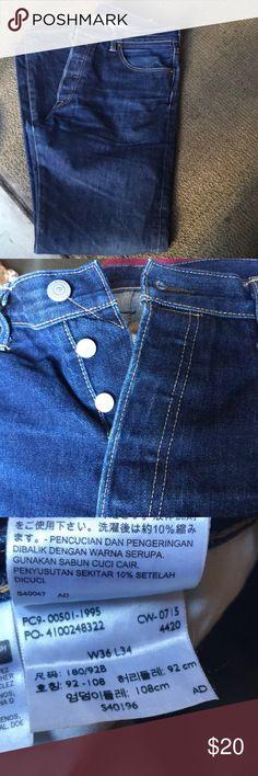Levis men jeans w36 x L34 Great conditions Levi's Pants