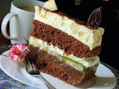 Tort gruszkowy Vanilla Cake, Italian Recipes, Ale, Sandwiches, Food And Drink, Cooking Recipes, Yummy Food, Favorite Recipes, Baking
