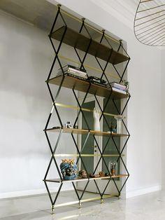 Estante Estrutura Metálica Designer: Pietro Russo Fonte: Trendland