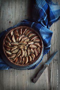 Tarte rustique aux pommes (gluten free)
