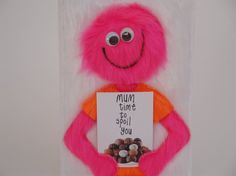 Mum time to spoil you furry appliqué Mothers Day by InOurCoats, £4.60