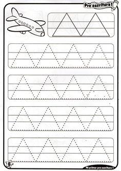 Preschool Writing, Kindergarten Learning, Preschool Learning Activities, Free Preschool, Kindergarten Worksheets, Kids Learning, Line Tracing Worksheets, Printable Preschool Worksheets, Worksheets For Kids