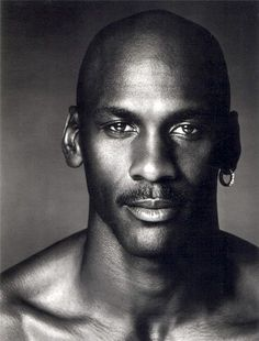 Michael Jordan, the greatest basketball player ever retired at age for the third and final time in No player in NBA history has achieved so much in any amount of time. Michael Jordan is a five-time league MVP, a ten-time scoring champion, a six- Black Is Beautiful, Beautiful People, Michael Jordan Quotes, Michael Jordan Face, Black Men, Black And White, Celebrity Portraits, Famous Faces, Slam Dunk