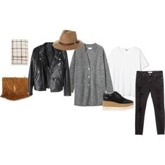 Untitled #1299 by paulalopezmtz on Polyvore featuring MANGO, STELLA McCARTNEY, Yves Saint Laurent, Zara and Rusty
