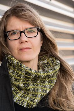 Ravelry: Crossed Furrows Cowl pattern by Sarah Schira