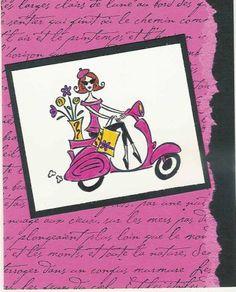 Paris In The Spring by PrincessMSK - Cards and Paper Crafts at Splitcoaststampers