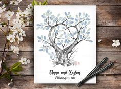 Our Creative Guest Books are Original Hand Drawn Artworks. This is not a print and every tree will be drawn to order, therefore it will be not exactly like on picture, but near similar. Wedding Tree Guest Book, Guest Book Tree, Tree Wedding, Fingerprint Wedding, Fingerprint Tree, Wedding Posters, Wedding Guest Book Alternatives, Wedding Keepsakes, Book Signing