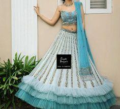 Lehenga Wedding Bridal, Wedding Lehenga Designs, India Wedding, Rajasthani Lehenga Choli, Ghagra Choli, Indian Lehenga, Choli Dress, Lehenga Blouse, Chandigarh
