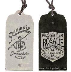 custom high quality hang tags for clothing