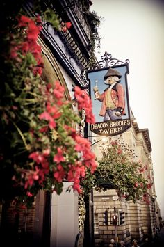 Pub in Edinburgh, Scotland @Tara Harmon Harmon Hajek we will have to stop here on our way to visit Nessi :)