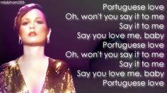 Teena Marie Portuguese Love lyrics