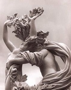 Detail, 'Apollo and Daphne' by Italian sculptor architect Gian Lorenzo Bernini collection: Galleria Borghese, Rome. Beautifully photographed by Bernini Sculpture, Bronze Sculpture, Metal Sculptures, Abstract Sculpture, Wood Sculpture, Renaissance Kunst, Italian Renaissance Art, Italian Sculptors, Greek Statues