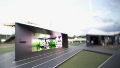 Nike Camp - built for US Olympic trials in Eugene