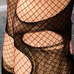 My tattered n torn tights in red! Available also in pink, black, emerald turquoise n purple💜 Black Fishnet Tights, Fishnet Shirt, Fishnet Leggings, Black Fishnets, Fishnet Stockings, Aesthetic Grunge Outfit, Goth Aesthetic, Punk Baby, Goth Dress