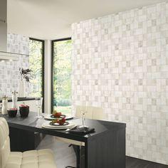 Beige Easy Wall Tile Wallpaper P+S 13476-30