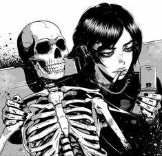 Manga Anime, Manga Girl, Anime Art, Caste Heaven, Arte Punk, Japanese Horror, Japon Illustration, Arte Obscura, Gothic Anime