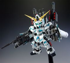 SD Full Armor Unicorn Gundam custom build - Gundam Kits Collection News and Reviews