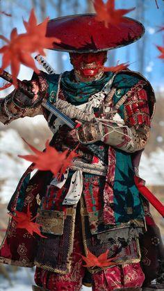Ronin Samurai, Samurai Warrior, Fantasy Armor, Dark Fantasy Art, Fantasy Character Design, Character Art, Fullhd Wallpapers, Samurai Wallpaper, Samurai Artwork