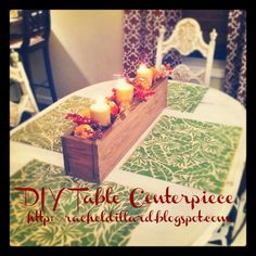 {simple.little.joys}: Pin-spired DIY Fall Table Centerpiece