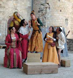 spectacle vivant historique château Largentière