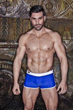Men and underwear: Brief Talk: Guillermo Angulo