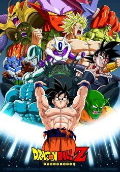 Dragon Ball Z - Goku Fighting Hot Japan Anime Art Silk poster Dragon Ball Gt, Akira, Foto Do Goku, Dragons, Anime Echii, Goku Vs, Dbz Vegeta, Anime Artwork, The Villain